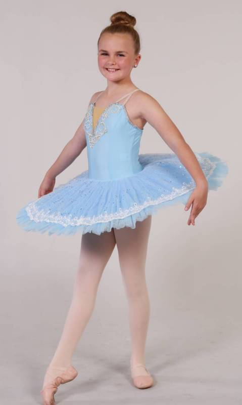 MUSIC LACE  - PANCAKE TUTU Dance Costume