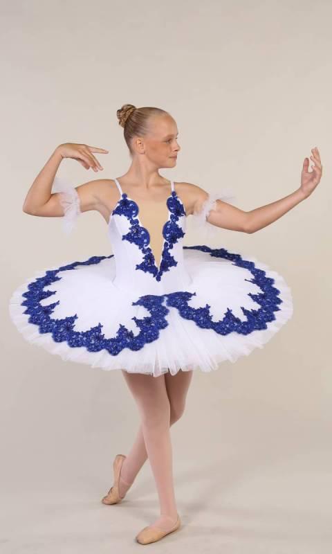 YVETTE - pancake tutu  Dance Costume