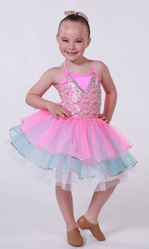 BABY STEPS + bow Dance Costume