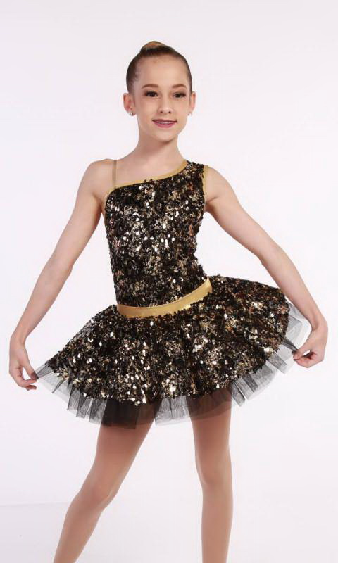 PARTY GIRL  - Black and Gold