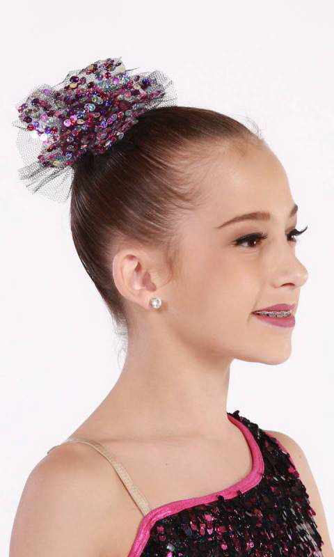 PARTY GIRL + hair accessory - Black and Pink