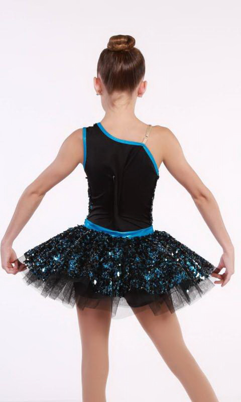 PARTY GIRL  - Black and Blue