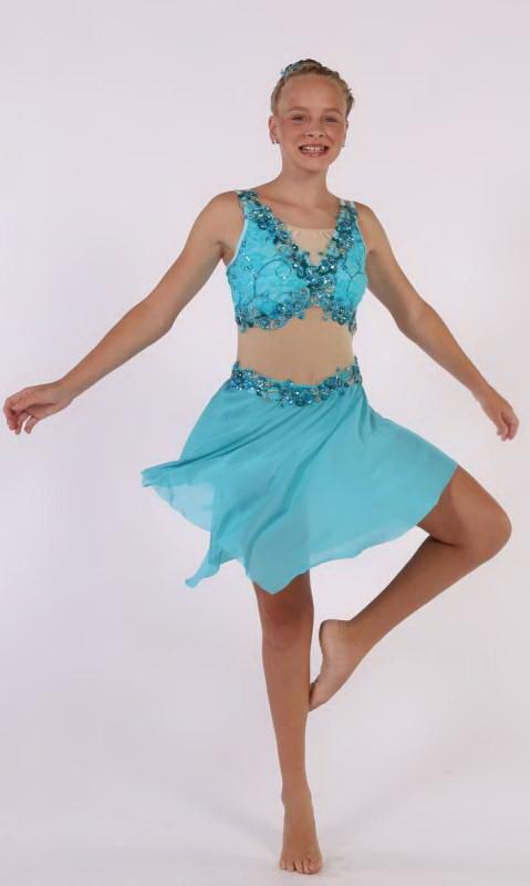 JASMINE  Dance Costume
