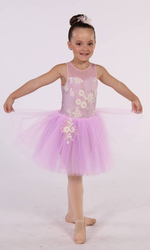 FLOWER GIRL - ROMANTIC TUTU + hair accesso Dance Costume