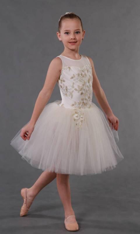 FLOWER GIRL - ROMANTIC TUTU + hair accesso Dance Costume
