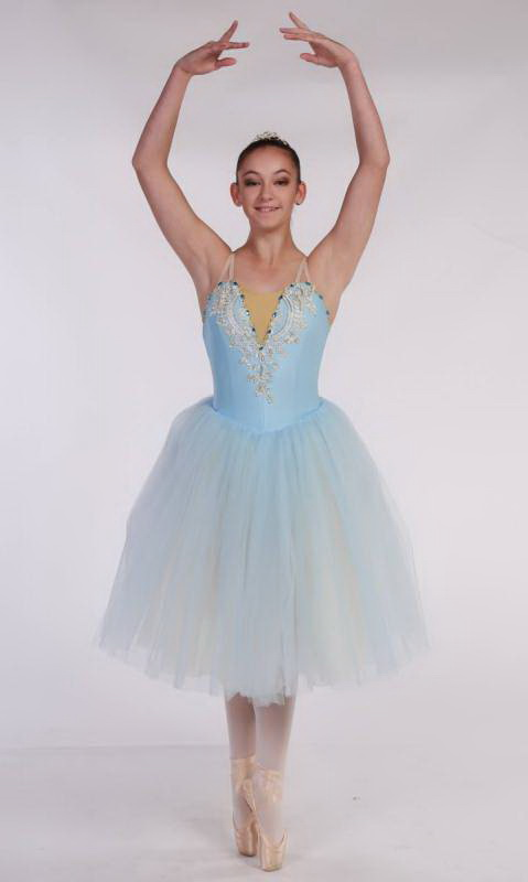Meegan - romantic tutu  - Soft Blue