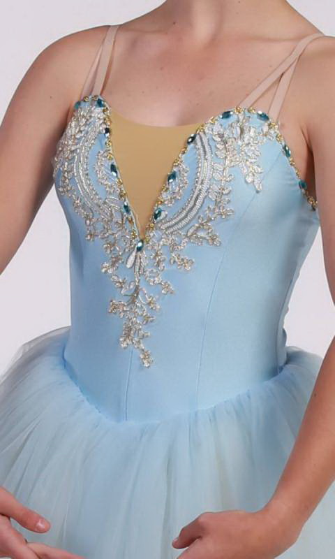 MEGHAN - romantic tutu - Soft Blue