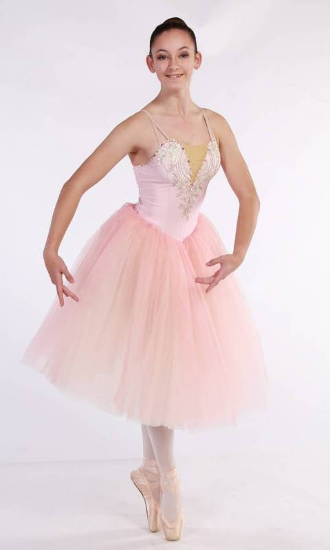 MEGHAN - romantic tutu Dance Costume
