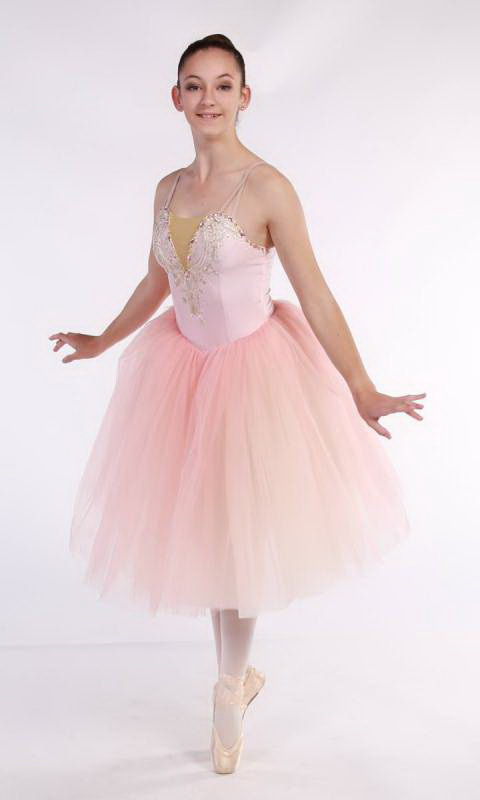 MEGHAN - romantic tutu - Soft Pink