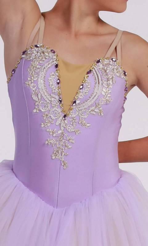 MEGHAN - romantic tutu - Soft Lilac
