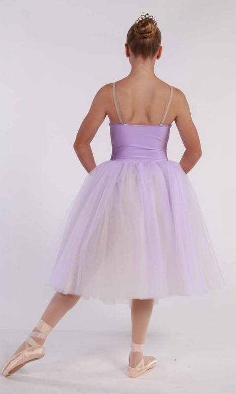 Meegan - romantic tutu  - Soft Lilac