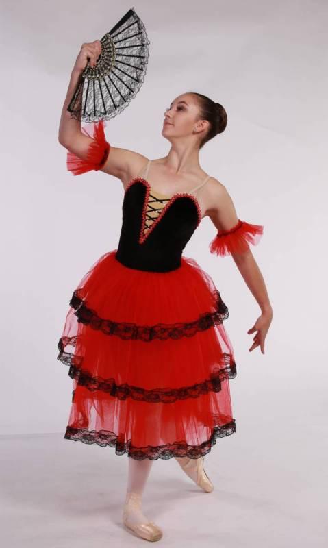 KITRI - SPANISH ROMANTIC TUTU Dance Costume