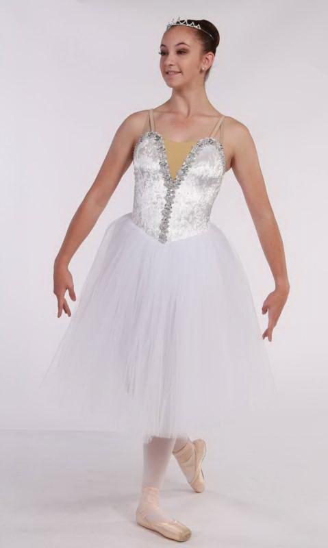 LA SYLPHIDE - Romantic tutu  - White