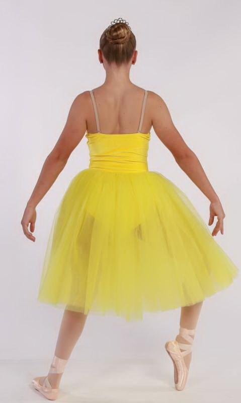GABRIELLE  - Romantic tutu - Yellow