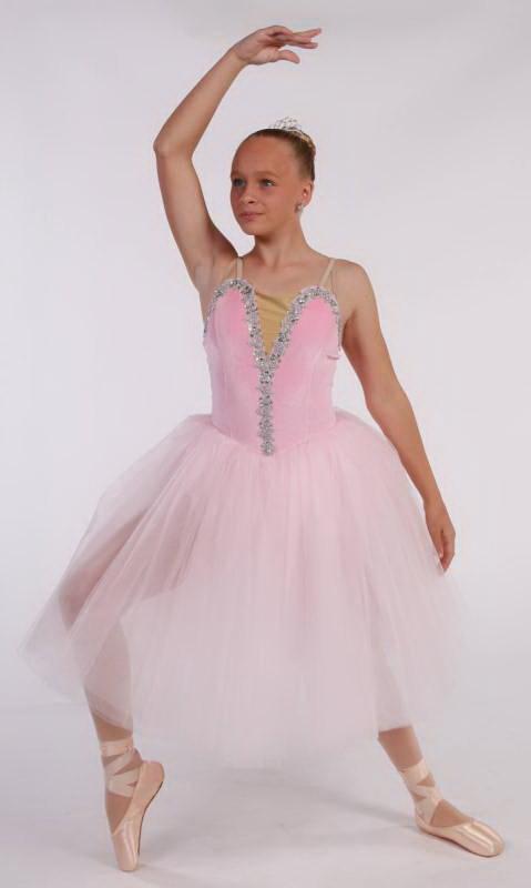 GABRIELLE  - Romantic tutu - Pink