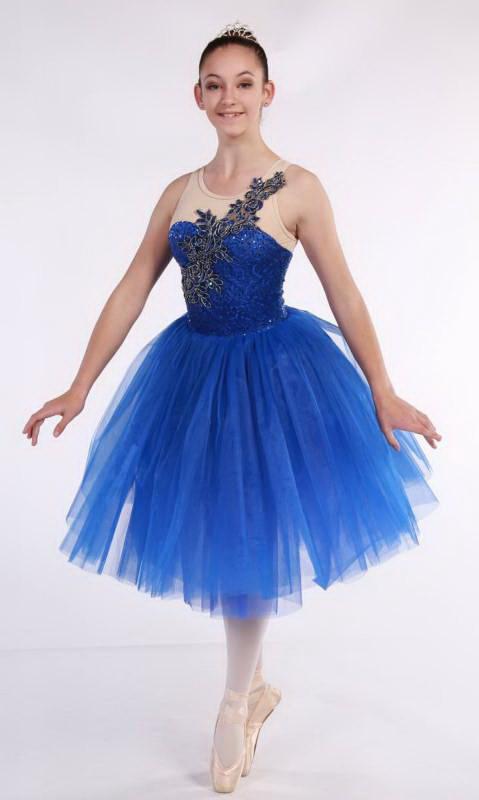 ISABELLA - Romantic tutu  - Royal Blue