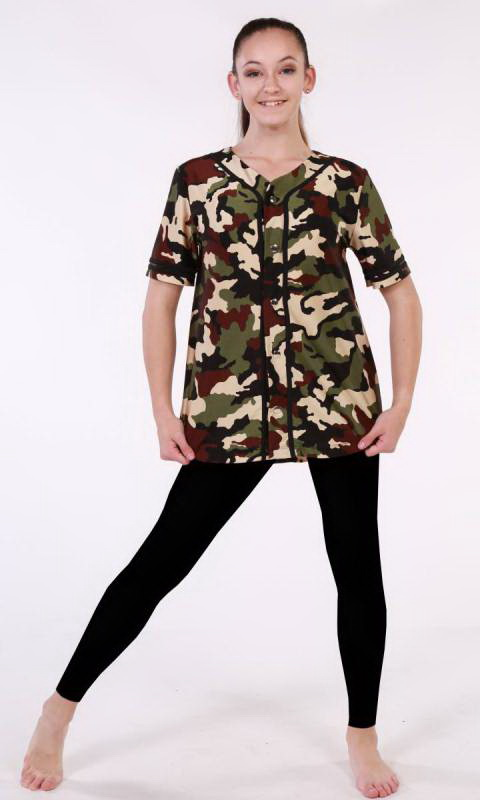 HOME RUN Baseball Camo Dance Costume
