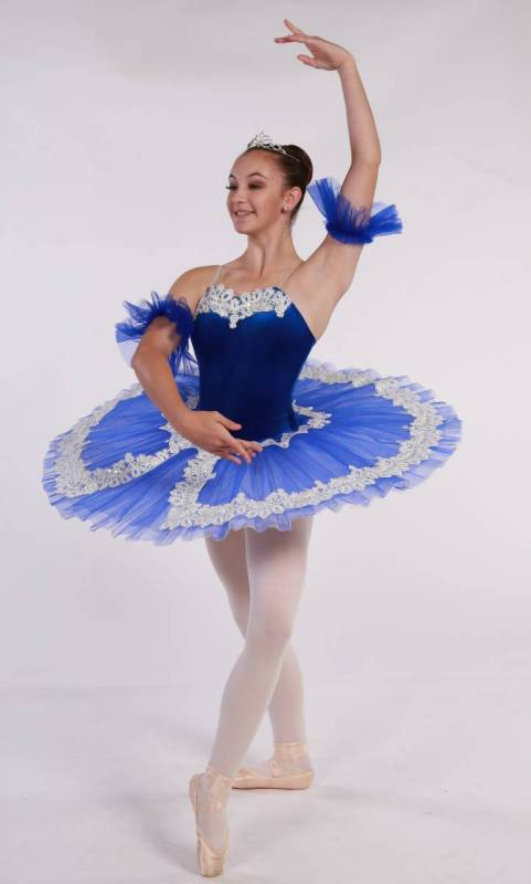 CHANTILLY - Pancake tutu  Dance Costume