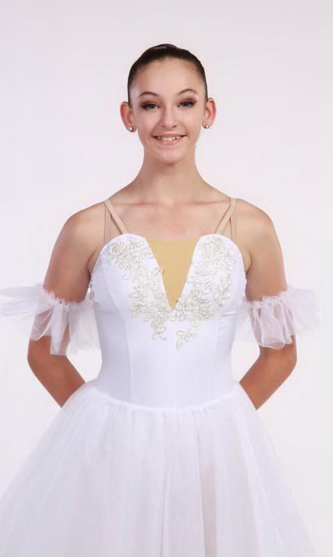 LE SYLPHIDE - Romantic tutu  - White