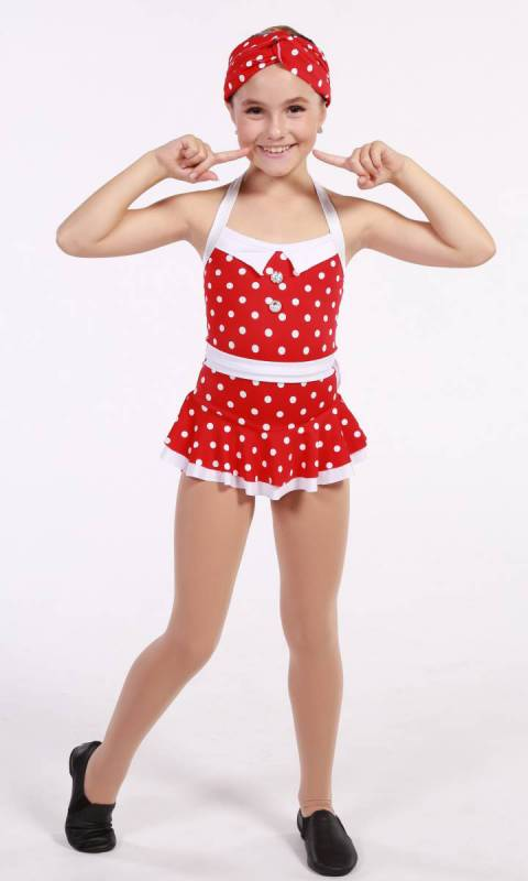 DOTTY COSSIE  - Red and White polka dot