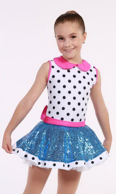 JUST A KID - DOTS N SEQUINS Dance Costume