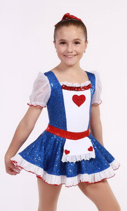 RAG DOLL Anne  Dance Costume