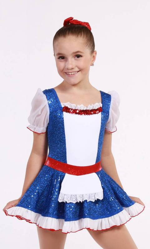 RAG DOLL ANNE Dance Costume