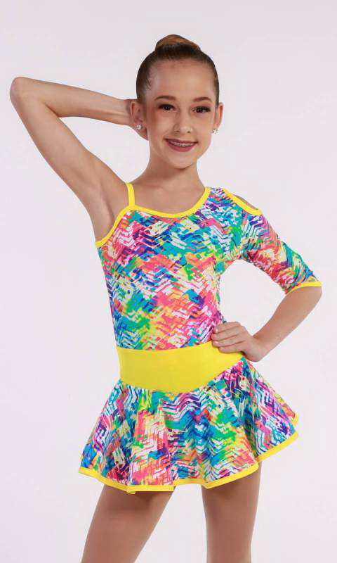 NEON TRACKS  Dance Costume