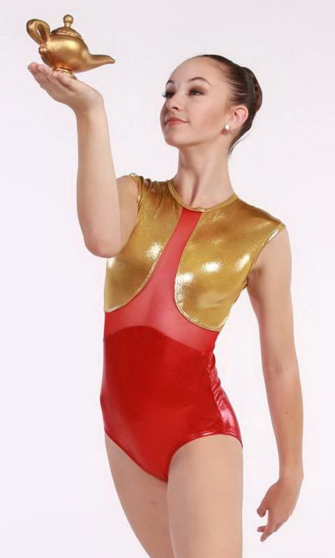 SULTAN - LEOTARD Dance Costume