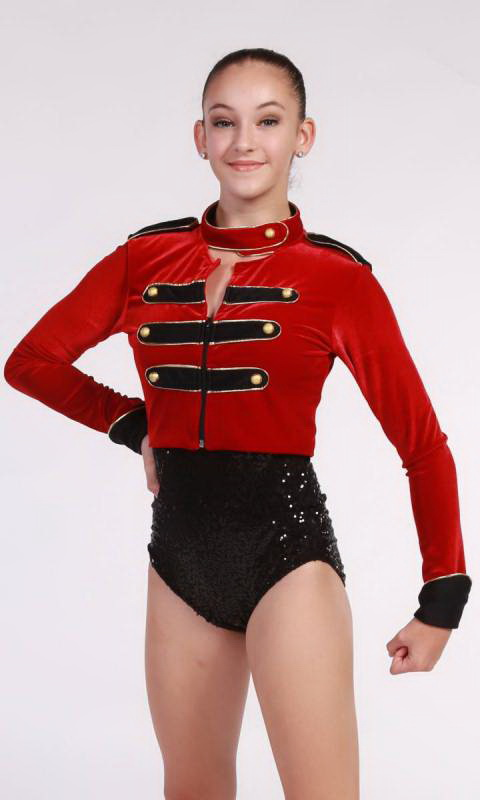 SHOWMAN - CROP JACKET - only Dance Costume