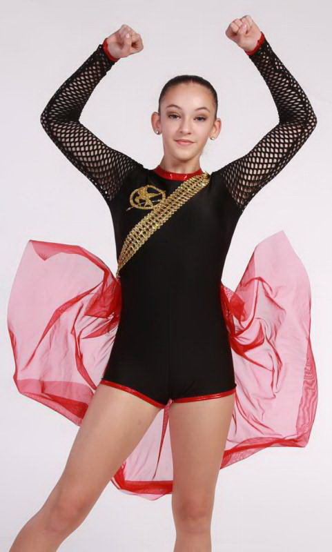 HUNGER GAMES  Dance Costume