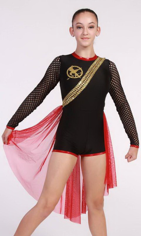 HUNGER GAMES  - Black Red and Gold