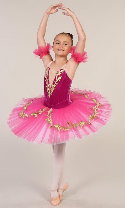 PRINCESS JASMINE - Pancake tutu  Dance Costume
