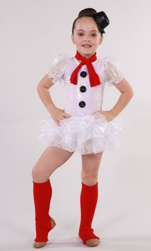 FROSTY THE SNOWMAN  Dance Costume