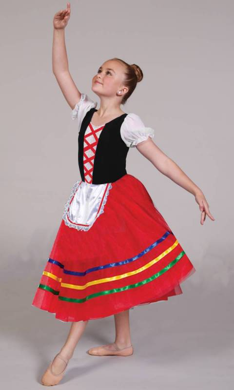 TARANTELLA  Dance Costume