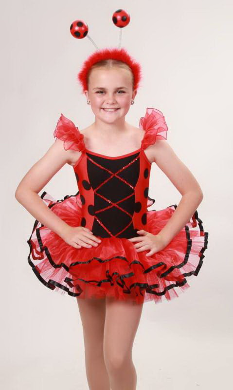 LADY BUG  Dance Costume