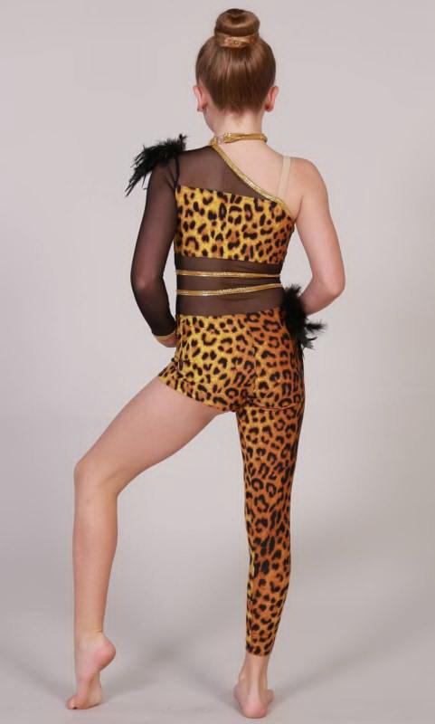 WILD KINGDOM - Tribal - Leopard print,  Black and gold