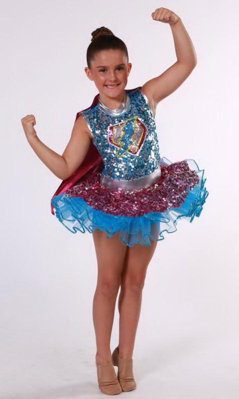 CARTOON HEROS  Dance Costume