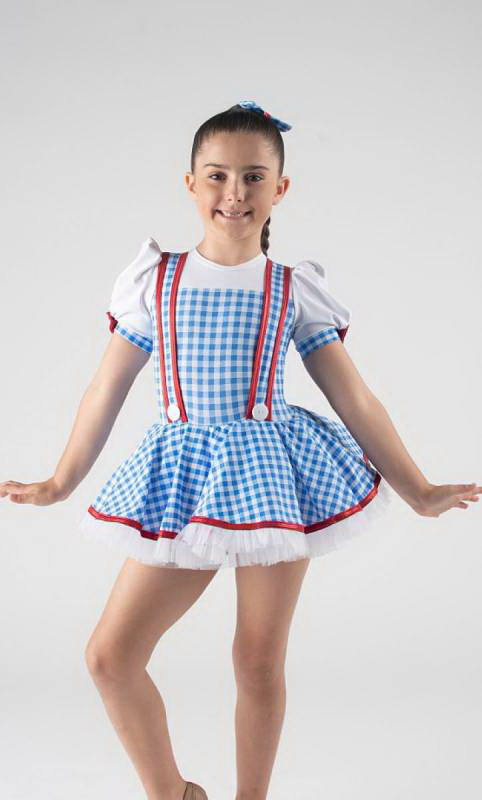 YELLOW BRICK ROAD - Dorothy  Dance Costume