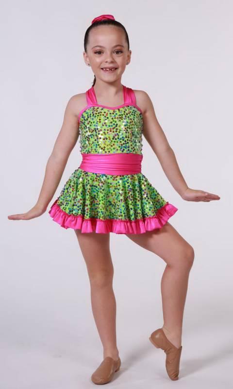 Neon Green + Pink + Multi Sequin