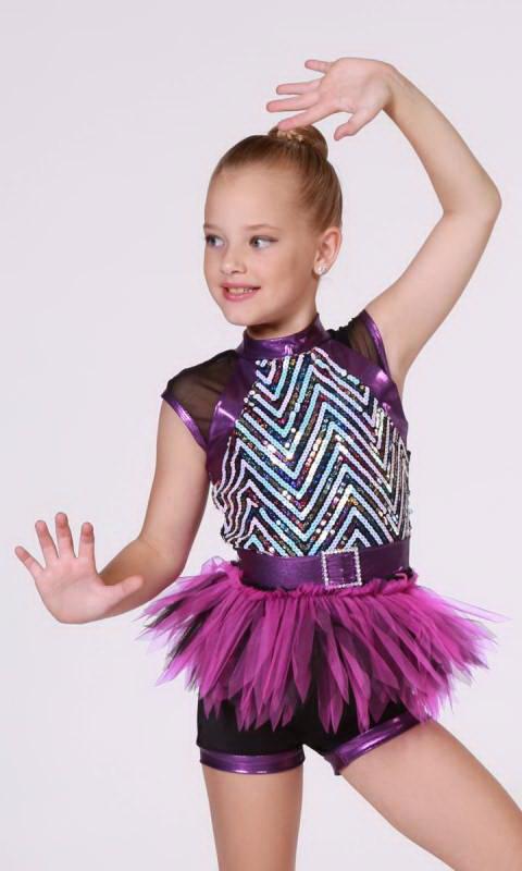 ZIPPITY ZAP Dance Costume
