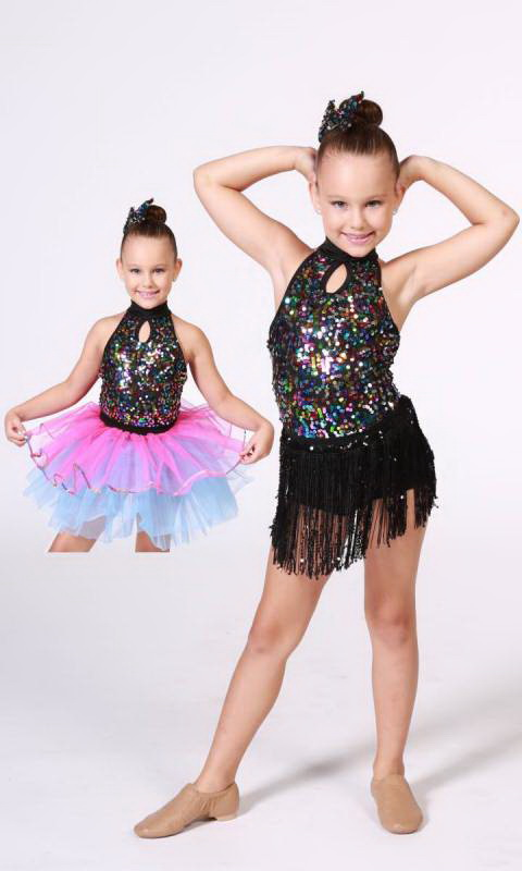 RHYTHM DANCER 2 in 1 Dance Costume