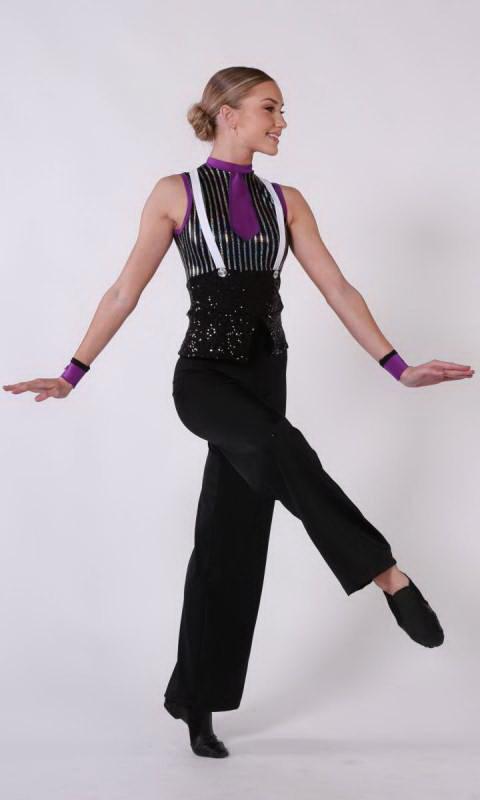 JUMPIN JACK  - Black Silver Purple