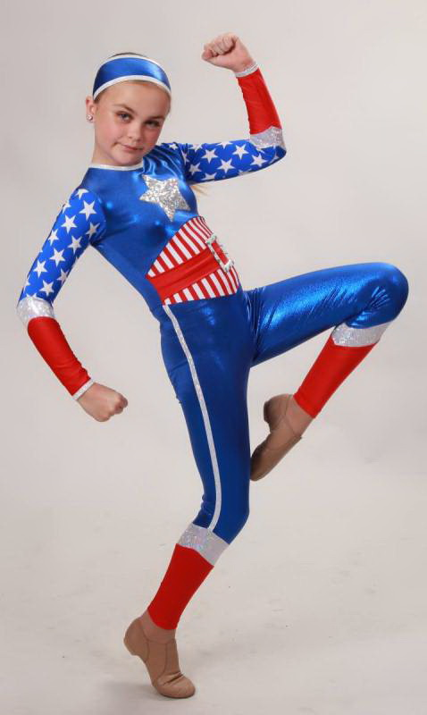 CAPTAIN AMERICA  - Royal, Red white and silver