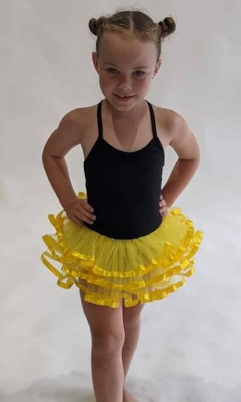 Ribbon tutu  Dance Costume