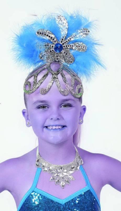 NEW SHOWGIRL HAT - medium Dance Costume