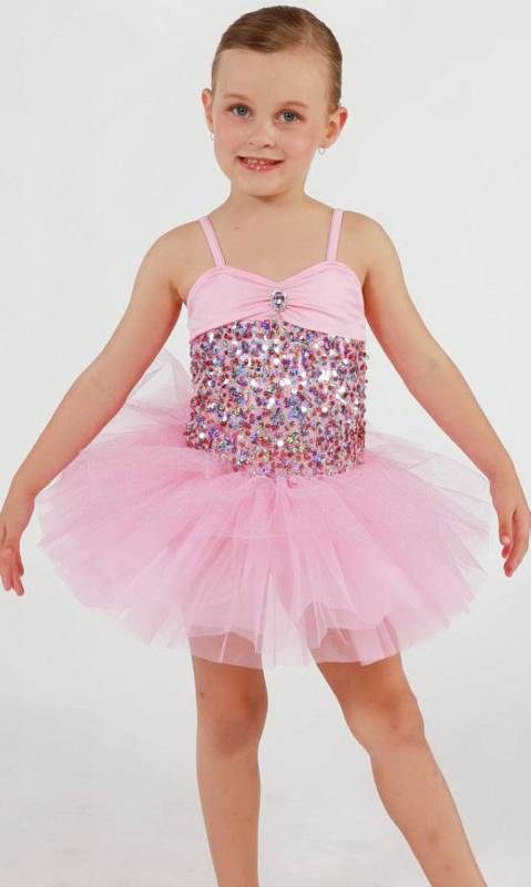SPARKLE PINK - hair bow Dance Costume