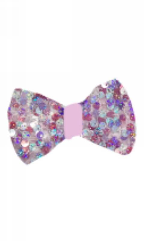SPARKLE PINK - hair bow - Pink