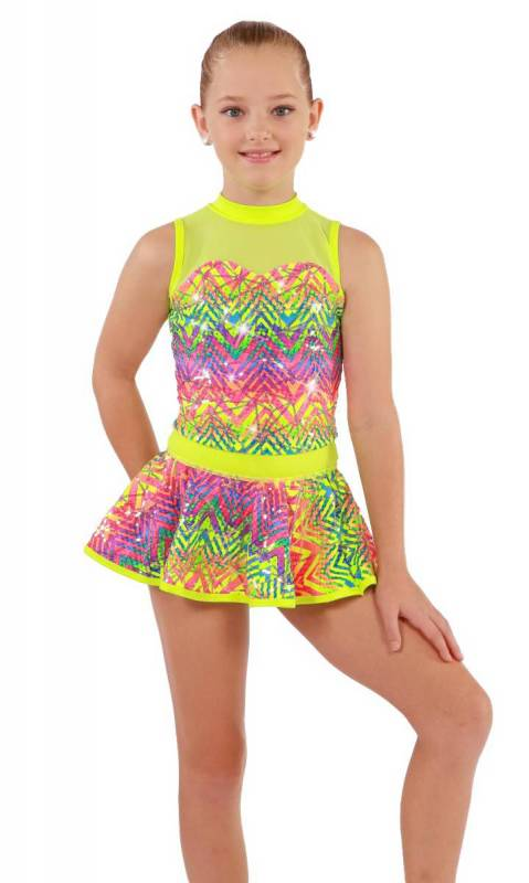 GET THE PARTY STARTED - 3 in one + HEADBAN Dance Costume