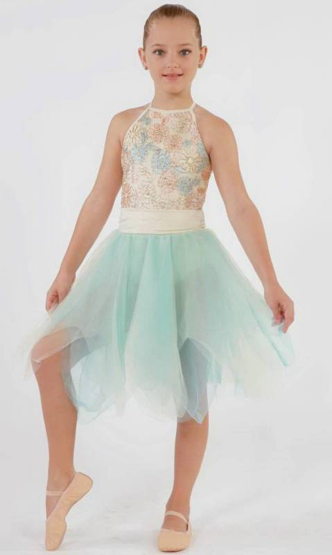 Samantha - lyrical - bun scrunchie Dance Costume